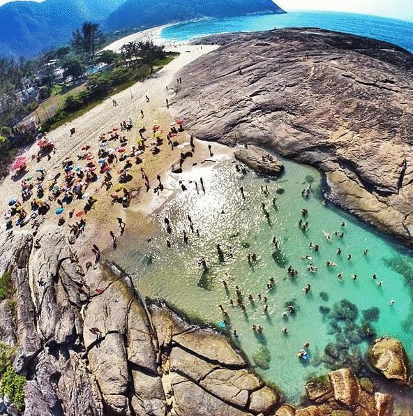 Itacoatiara Beach in Niterói, Rio de Janeiro