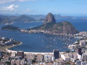 Botafogo beach and Sugarloaf