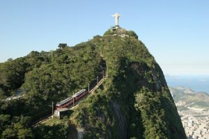 Train to visit the Christ in Rio