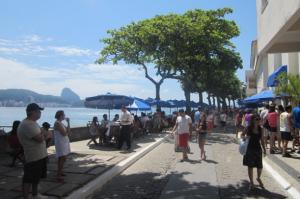 O Forte Copacabana no Rio de Janeiro.