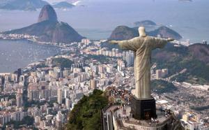 O Cristo no Rio: vistas incríveis!