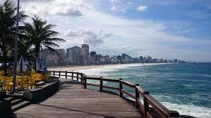 Leblon lookout poin in Rio de Janeiro.
