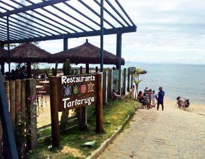 Restaurant at Tartaruga beach in Buzios
