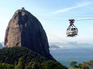 Pão de Açúcar no Rio de Janeiro.