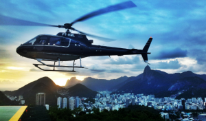 Passeio de helicóptero no Rio de Janeiro