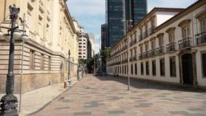 Praça Quinze no Rio de Janeiro.