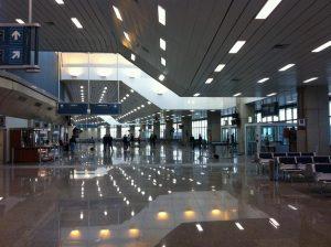 O terminal 2 do aeroporto internacional do Rio de Janeiro.
