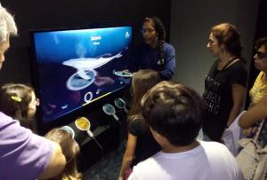 Learning at the Aquario
