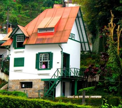 Santos Dumont house in Petropolis