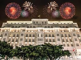 Copacabana Palace Hotel in Rio