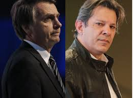 Bolsonaro and Haddad