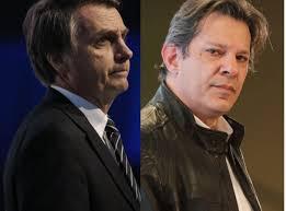Bolsonaro and Haddad