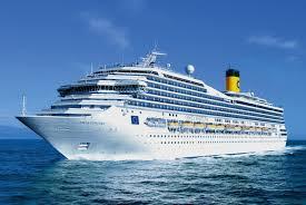 Cruise ship in Rio