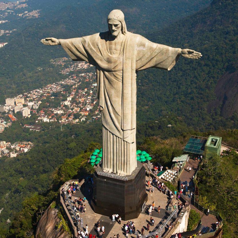 Christ the Redeemer is part of our Rio de Janeiro Tour